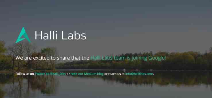 Halli Labs acquired by Google